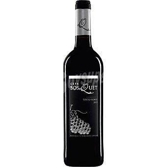 Cepa bosquet Vino tinto roble Vino de la Tierra Luaja Alpujarra Botella 75 cl