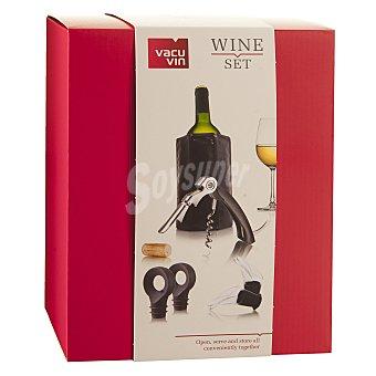 Vacuvin Set de Vino - Negro 1 ud