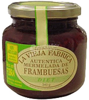 La Vieja Fábrica Mermelada frambuesa diet fibra 280 g