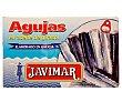 Conservas de aguja en aceite de girasol 88 g Javimar