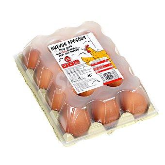 Huevos frescos categoría A clase M Estuche 12 uds