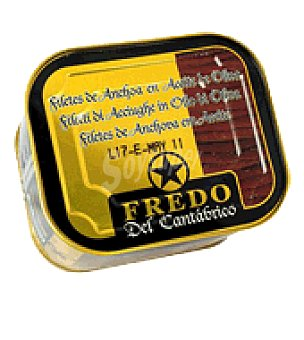 Conservas Del Cantabrico Filetes anchoas aceite oliva 205 g