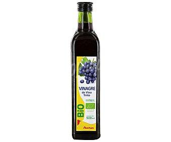 Auchan Vinagre de vino tinto ecológico botella de 500 mililitros