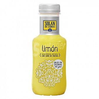 Solán de Cabras Agua mineral natural con zumo de limón 33 cl 33 cl