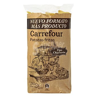 Carrefour Patatas fritas tradicionales Pack de 2x150 g