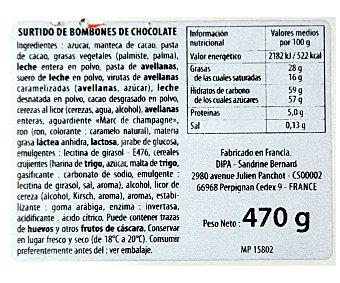 Jacquot Surtido de bombones de chocolate Estuche 470 g