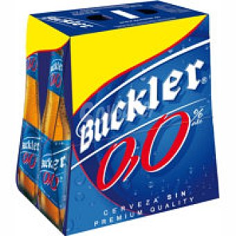 Buckler Cerveza 00 Pack 6x25 cl