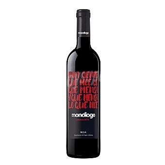 MONOLOGO Vino tinto crianza con denominación de origen Rioja Botella de 75 centilitros