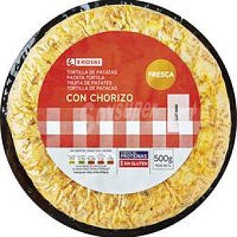 Eroski Tortilla C/Chorizo 500g