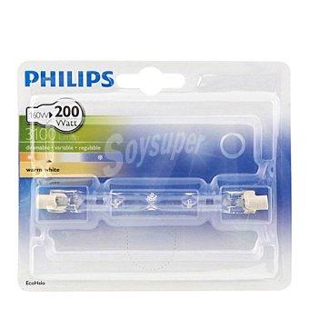 Philips Bombilla ecohalo linea 160W R7S