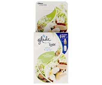 Glade Brise Ambientador sense&spray Bali con sándalo y jazmín 1 recambio.