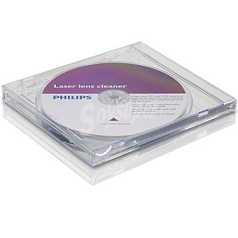 Philips Limpiador de lentes cd/dvd SVC2330