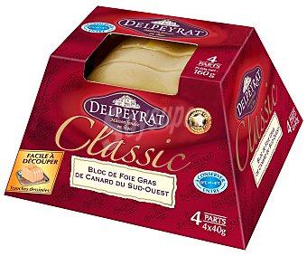 Delpeyrat Foie gras de pato mi cuit 40 gramos