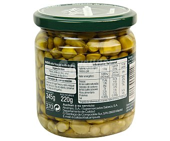 Auchan Habitas en aceite de oliva 220 gramos peso escurrido