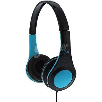 Tnb Auriculares de diadema en color negro y azul 1 Unidad