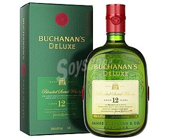 Buchanan's Whisky blended escocés con maduración de 12 años Botella de 1 l