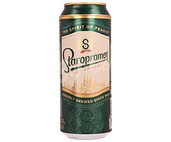 Staropramen Cerveza rubia checa Lata 50 cl