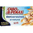 Berberechos de Holanda al natural 45-55 piezas Lata 63 g neto escurrido Cabo de Peñas