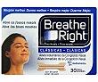 Tiras nasales alivio instantaneo para la congestión nasal , 30 Unidades grandes Breathe Right