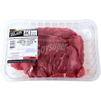 HARAKAI Ternera label filetes de 1ª A peso aproximado Bandeja 600 g
