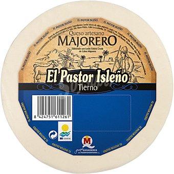 EL PASTOR ISLEÑO Queso de cabra tierno D.O. Majorero pieza 1,150 kg