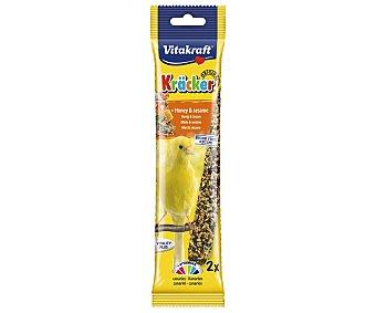 Vitakraft Barrita de miel canario Pack 2 unid