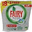 Detergente en pastillas para lavavajillas 21 uds Fairy Platinum