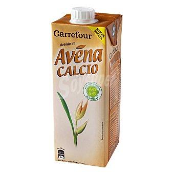 Carrefour Bebida de avena con calcio Brik de 1 L