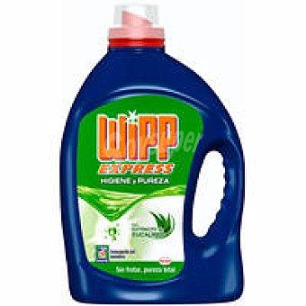 Wipp Express Detergente máquina gel higiene Botella 29 dosis