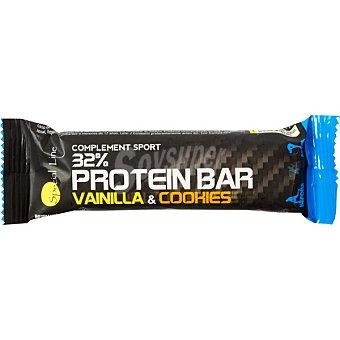 Special Line Barrita de proteínas 32% sabor vainilla y galletas Unidad 40 g