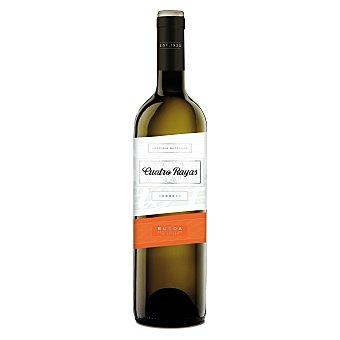 Cuatro Rayas Vino Blanco Verdejo Rueda D.O. Botella 75 cl