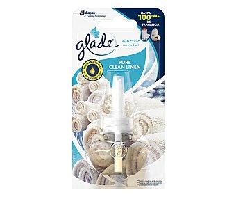 Glade Ambientador eléctrico recambio Pure Clean Linen Gla 1 ud