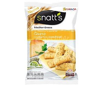 Snatt's Grefusa Palitos de queso con hierbas aromáticas 110 gramos