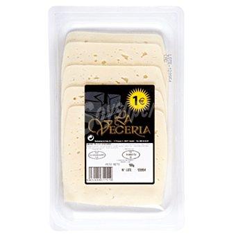 La veceria Queso semicurado lonchas envase 100g
