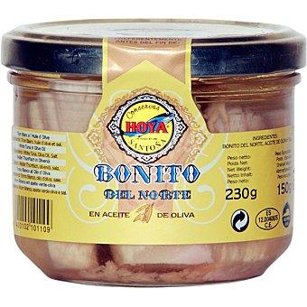 Hoya Bonito del norte en aceite de oliva Frasco 160 g neto escurrido