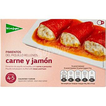 El Corte Inglés Pimientos del piquillo rellenos de carne y jamón Estuche 230 g