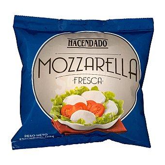 Hacendado Queso mozzarella fresca Paquete 259 g escurrido 125 g