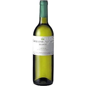 CASTILLO DE AGUARON Vino blanco D.O. Cariñena elaborado para grupo El Corte Inglés botella 75 cl 1 unidad