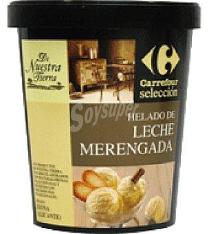 Carrefour Selección Helado de leche merengada 500 g