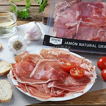 SUPREME Jamón natural lonchas finas 90 gr
