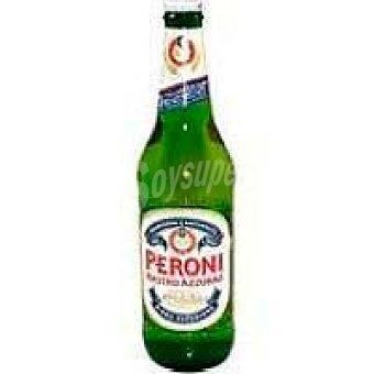 Peroni Cerveza italiana Nastro Azurro peroni Botellín 33 cl
