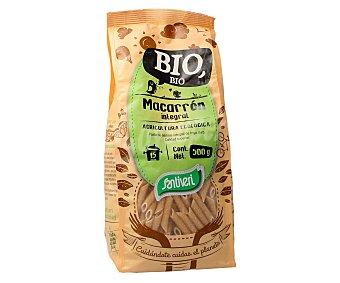 SANTIVERI Macarrones integrales de agricultura ecológica 500 gramos