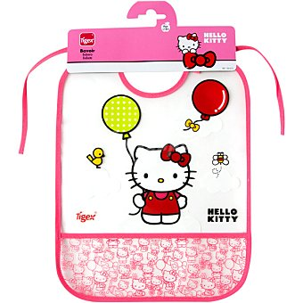TIGEX Babero Eva Hello Kitty blister  1 unidad