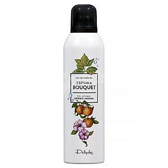 Deliplus Gel baño en espuma dermo aroma piel normal bouquet Botella 200 ml