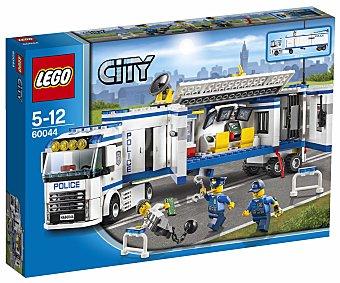 LEGO Juego de Construcciones City Police, Unidad Móvil de Policía, Modelo 60044 1 Unidad