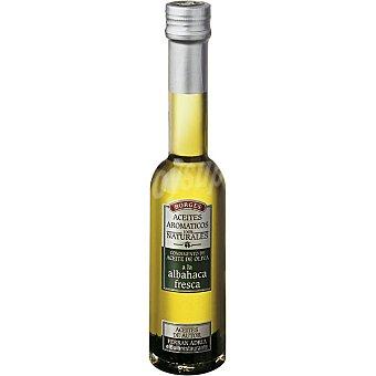 Borges Condimento de aceite de oliva albahaca fresca Botella 200 ml