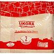 Bayeta de paño con rayas 50X45 cm Paquete 2 unidades Ukora