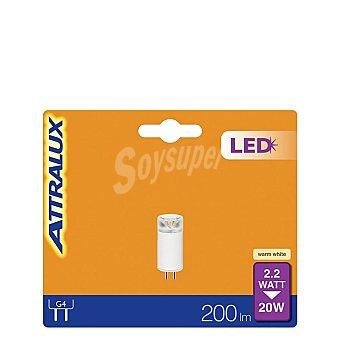Attralux Bombilla LED Capsula 2,2W = 20W G4 Attralux