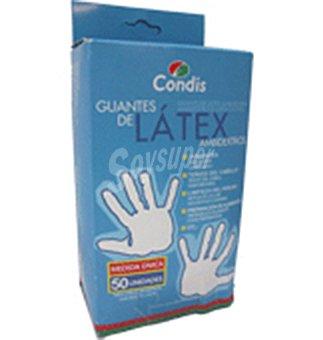 Condis Guantes latex 50 UNI