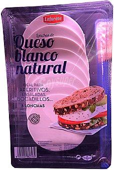 Lafuente Queso blanco natural 8 lonchas Paquete 125 g